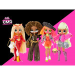 Набор куклы (O.M.O) сюрприз 4шт .